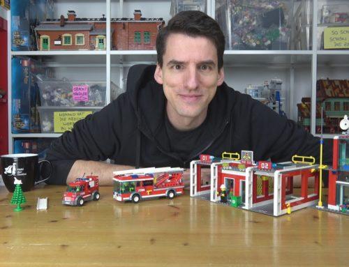 Die letzte Feuerwehrstation mit Konzept! LEGO® City 7208 Große Feuerwehrstation