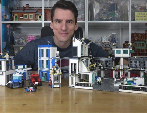 Neu gegen gebraucht! Lohnt sich neues LEGO® City überhaupt noch? Polizeistationen für 80€
