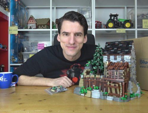 Die beste Burg aus Bausteinen! 5250 Teile ergeben BlueBrixx® Specials 102818 Burg Blaustein