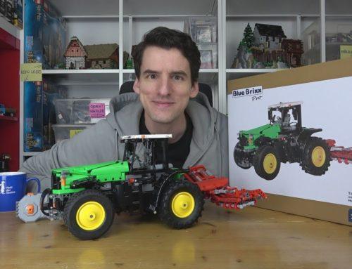 CaDa® ist so viel besser als Lego®! Ein super RC-Traktor in Kooperation mit BlueBrixx® – Pro 103215