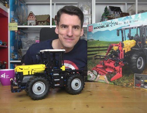 Auch Mould King hat bessere Technic-Modelle als LEGO®! Ein RC-Traktor mit super Anbauteilen für 150€