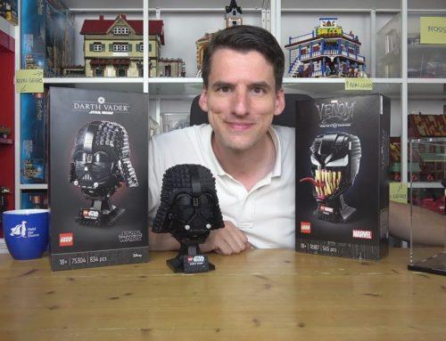 Bedrohliche Details und eine Kiefer-Situation: LEGO® 75304 & 76187 Darth Vader und sein Kumpel Venom
