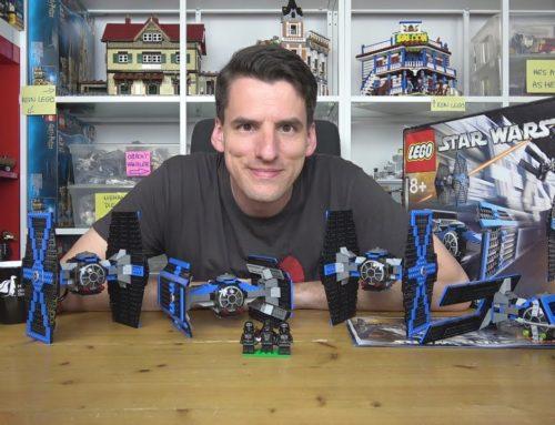 Es leuchtet blau! LEGO® Star Wars 10131 TIE Fighter Collection von 2004