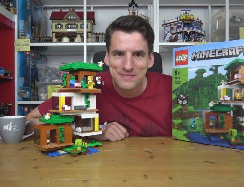 Ein teures und liebloses Minecraft-Topmodell: LEGO® 21174 Das Moderne Baumhaus