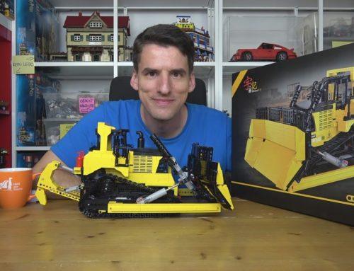 Nach 14 Jahren wieder ein RC-Bulldozer! Happy Build® 22011 Planierraupe