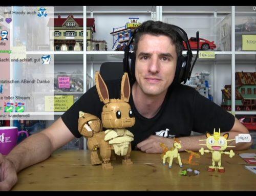 Bauen mit dem Helden! Mega Construx versorgt uns mit wilden Pokemon-Modellen!