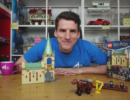 Jetzt ist die Serie komplett: LEGO® Harry Potter 76387 Begegnung mit Fluffy