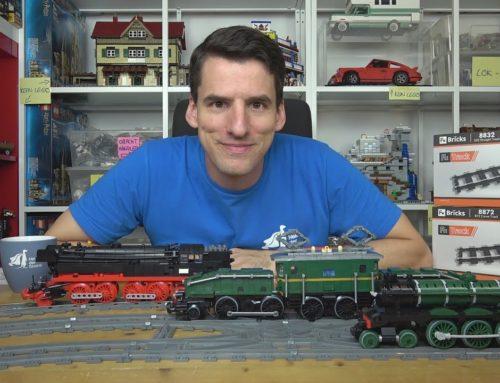 Die zweite Lok-Party! Drei Lokomotiven, eine Doppelweiche und super Fx-Schienen laden Euch ein!